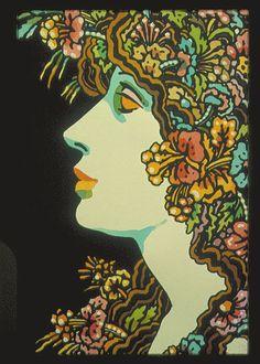 1973 book cover design by John Alcorn