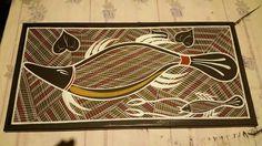 Aboriginal art by Russell Yilamara Brown