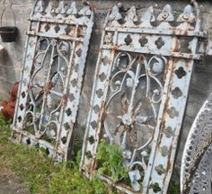 Ornate Entrance Gate 592 :: Entrance Gates and Railings Gates And Railings, Entrance Gates, Architectural Salvage, Outdoor Structures, Architecture, Arquitetura, Entrance Doors, Front Gates, Architecture Design