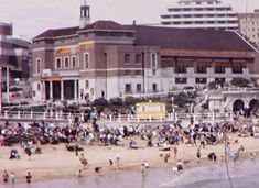 The Beach in Bournemouth Dorset England Dorset England, Bournemouth, Buses, Nostalgia, Places To Visit, Street View, Memories, History, Beach