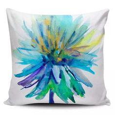 Cojin Decorativo Tayrona Store Flor Azul - $ 43.900