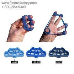 Increase your grip strength with the all new Hand X Band.   Hand X Band™ was specifically designed to exercise & strengthen your expanding muscles, balancing all of that over-gripping. Hand X Band™ is compact, durable & easy to use. Hand X Band™ will help you strengthen your expanding muscles correcting the imbalances caused by over-gripping.