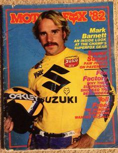 Moto-x fox catalog 1982