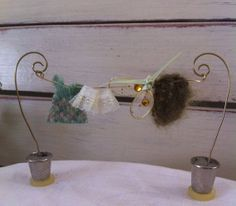 Hey, I found this really awesome Etsy listing at https://www.etsy.com/listing/179393954/fairy-garden-clothes-line-fairy-washing