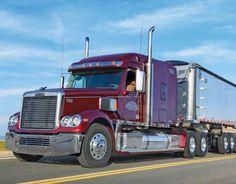 2017 Promotional Wall Calendars - Kings of the Road  Big Rigs, Custom Trucks Calendar - January  Freightliner