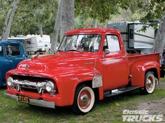 vintage ford pickups | 2009 Ford F100 Western Nationals Prime Classic Truck Photo 9