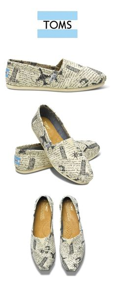 White Black Toms Mens Stripe Shoes - $38.99