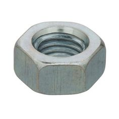 Crown Bolt 84980 1 Inch-8 Zinc-Plated Coarse Thread Hex Nuts, 10-Count by Crown Bolt. $17.87. From the Manufacturer                Hex nuts are for general applications and are used with bolts and washers of the same finish. The most commonly used nut, they are often found in deck and fence building. The called out size is the inner diameter and the number of threads per inch or thread pitch.