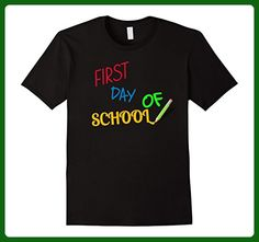 Mens First Day Back To School Tshirt Clothing Teacher Student Mom 3XL Black - Relatives and family shirts (*Amazon Partner-Link)