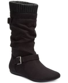 sz 7 2nd choice!!!!  casual black boots first!! !! Report Everton Slouchy Sweater Boots