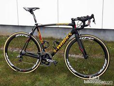 Tom Boonen's Specialized S-Works Roubaix SL4