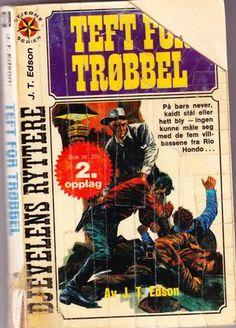 """The Texan"" av JT Edson Texans, Comic Books, Comics, Reading, Cover, Reading Books, Cartoons, Cartoons, Comic"