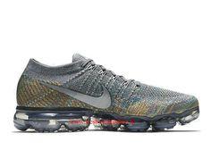 new product d928a d2d6f Chaussures de Running Pas Cher Pour Homme Nike Air Vapormax Flyknit  Multicolor 849558-019 -