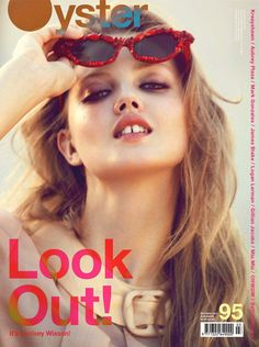 Oyster cover with Lindsey Wixson