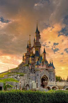 Disneyland Paris, France. Can't wait to take Raiden!