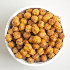Pin for Later: 100+ Healthy Vegan Recipes to Enjoy All Day, Every Day Spicy Roasted Chickpeas