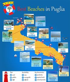 Best beaches in Puglia - visit and exploring info: guidaturistic@gmail.com  by Vito Maurogiovanni