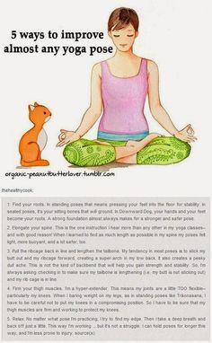 5 ways to improve any yoga pose