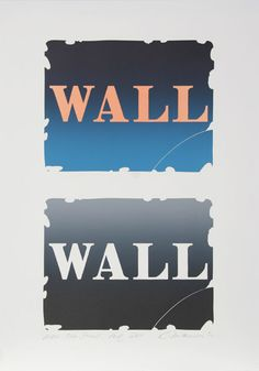 """Two Stone IV"", 1990, ""Wall"" series"