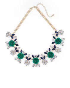 Floweret Gem Necklace