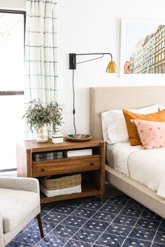 Master Bedroom on www.littlegreennotebook.com