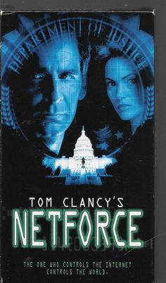 Netforce (VHS) Scott Bakula Tom Clancy