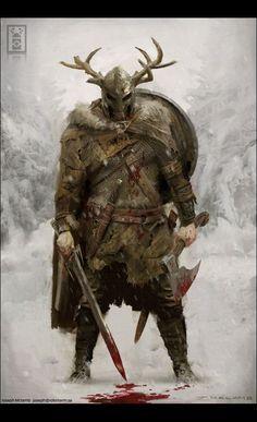 viking warrior vikings champions norse winter is coming Fantasy Warrior, Fantasy Rpg, Medieval Fantasy, Fantasy Artwork, Warrior Concept Art, Dark Fantasy, Fantasy Character Design, Character Concept, Character Inspiration