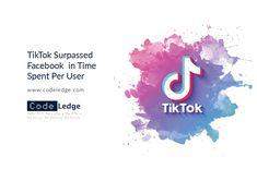 For the first time users are spending more time on TikTok than Facebook as per data from a new report on app usage. #TikTok #DigitalMarketing #MarketingStrategy #MarketingAgency #SocialMedia #SocialMediaMarketing #TikTokMarketing #SMMAgency #CodeLedge #vaxjo #växjö #växjökommun #vaxjokommun #vaxjocity #växjöcity #sweden Social Media Marketing, Digital Marketing, Sweden, Coding, App, Facebook, Amazing, Apps, Programming