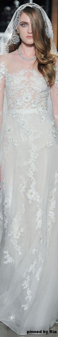 Reem Acra Bridal Spring 2018 l Ria