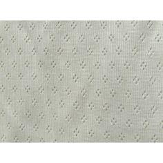 French pointelle  ajour knit organic fabric  by FabriqueRomantique, $4.89