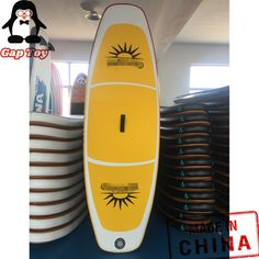 Custom Makaio Paddling Board with good quality Inflatable Paddle Board, Inflatable Sup, Sup Yoga, Pvc Material, Paddle Boarding, Stand Up, Surfboard, Surfing, Silver