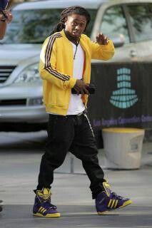 super popular 32607 45ff1 Lil wayne Adidas Superstar Vintage, Jeremy Scott Adidas, Adidas Fashion,  Lil Wayne,