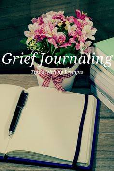 Grief journaling has therapeutic value and enhances meaning making. Learn grief journaling tips and writing prompts to help you get unstuck. Journal Prompts, Writing Prompts, Writing Ideas, Journal Ideas, Anticipatory Grief, Grief Activities, Grief Counseling, Child Life Specialist, Dealing With Grief