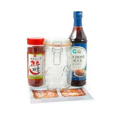 Kimchi kit Anchovy Sauce, Kimchi, Cool Gifts, Preserves, Stuffed Peppers, Food, Kit, Gift Ideas, Moose