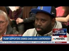 WATCH MSNBC cut off Black Trump voter for calling them on shouting racist to trap black vote - YouTube