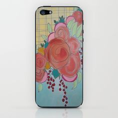Check out Jessica SCHULLER on Society6 and Etsy!! Rose+Garden+iPhone+