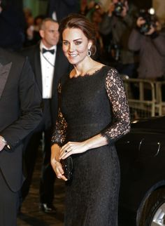 Kate Middleton Photos: Arrivals at the Royal Variety Performance