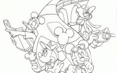 Best Disney World Coloring Pages
