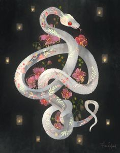 FIONA HSIEH Snake Painting, Snake Drawing, Snake Art, Art Reference, Snake Wallpaper, Snakes, Snake Design, Body Art, Art Photography