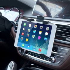 """Universal Car Air Vent Mount Tablet Holder Stand For 7""""-10"""" Tablet"""