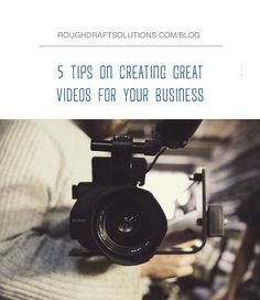 Is your business looking to incorporate video content on your website, blog, social media, or newsletter? Let's be honest, being on camera can get a bit nerve racking. From our own experience, here are a few tips that can help make that process much easier!