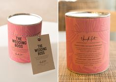 Chick Lit Candles on Packaging Design Served
