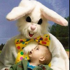 I saw the evil easter bunny today too