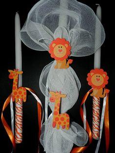 Wedding candles made of beeswax Baby Baptism, Christening, Baptism Ideas, Orthodox Wedding, Catholic Wedding, Baptism Candle, Palm Sunday, Greek Wedding, Candle Making