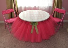 DIY Tutu Table – Gorgeous Decorating Idea for Your