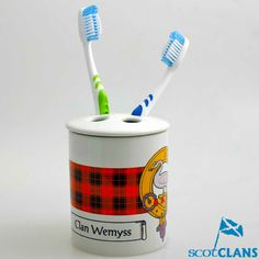 Clan Crest Toothbrus