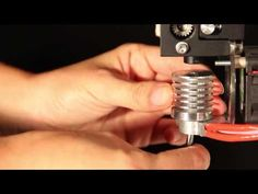 Micron 3DP - All Metal Extruder - YouTube