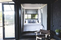 If you've ever wanted to stay overnight on Sydney Harbour's Cockatoo Island but aren't a fan of roughing it, this new shipping container hotel is for you.