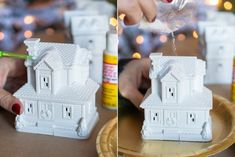 15 Dollar Store Christmas DIY Projects Anyone Can Do - The Krazy Coupon Lady - Diy and crafts interests Christmas Craft Projects, Christmas Crafts For Gifts, Christmas Diy, Christmas Decorations, Holiday Decorating, Christmas Tablescapes, Primitive Christmas, Homemade Christmas, Christmas Stuff