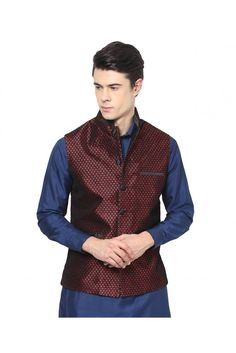 Charming Indo-Western Nehru jacket for men from Yepme for  a remarkably suave and traditional appearance. #mensethnicwear #menswear #fashion #fashionalert  https://trendybharat.com/men-fashions/ethnic-wear/indo-western/yepme-vance-ethnic-jacket-maroon-ypmnjkt0106